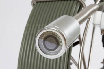 camera d'inspection autonivelante